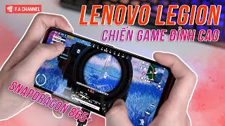 Chiến Game PUBG Mobile 4K - 90FPS Trên Lenovo Legion Pro - Snap865+ Chiến Game Cứ Gọi Là Đỉnh Cao