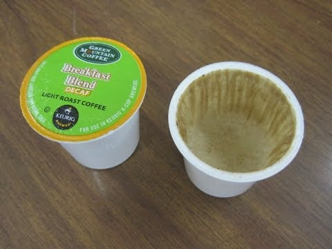 HOW TO RECYCLE YOUR USED K CUPS! HAND GRINDING WHOLE BEAN COFFEE & HEAT SEALING K CUPS FOIL LIDS