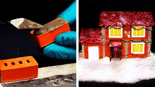 20 AMAZING MINIATURE DIY HOUSES