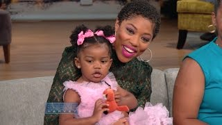 Steve granddaughter's TV debut! || STEVE HARVEY