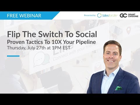 Flip The Switch To Social:  Proven Tactics To 10X Your Pipeline