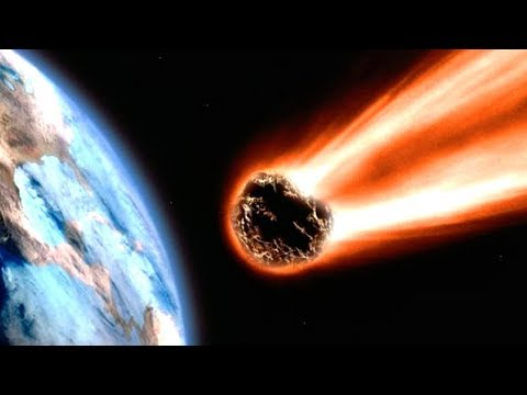 Was, wenn ein Meteor mit Lichtgeschwindigkeit auf die Erde trifft?