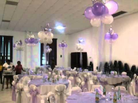 Centros de mesa de altura con globos youtube - Centros de mesa con globos ...