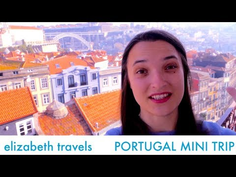 Train from Lisbon to Porto | Portugal mini-trip