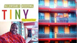 EMPTY HOUSE TOUR, AFRICA  APARTMENT TOUR! TINY HOUSE TOUR - KEMUNTO BEAR