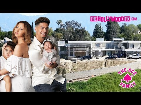 The Ace Family New House Construction Tour Being Built By Austin McBroom & Catherine Paiz 3.17.19