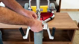 TravelScoot Escape Footrest Installation