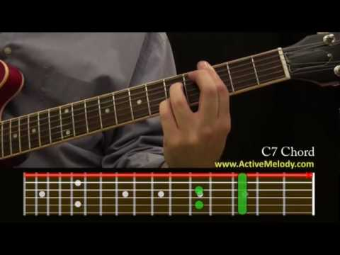 How To Play a C7 Chord On The Guitar - YouTube