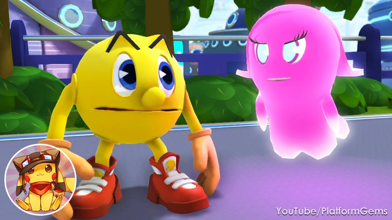 Pac-Man and the Ghostly Adventures 2 Walkthrough World 1 - Pacopolis [1080p]