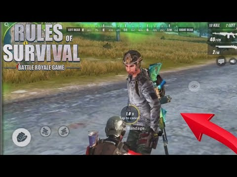 What Happens When the LAST 2 Players don't shoot each other  in Rules Of Survival Mobile ! ( FUNNY )