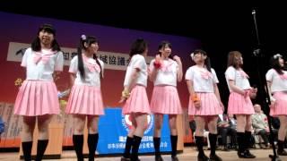 豊田地協メーデー&フェスティバルでのPINKFOXのステージ みよし市長、...