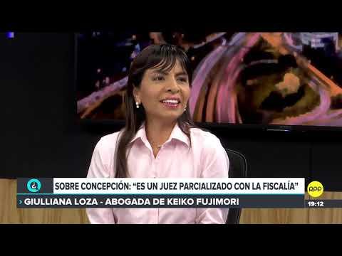 #QTLR | Giuliana Loza, abogada de Keiko Fujimori