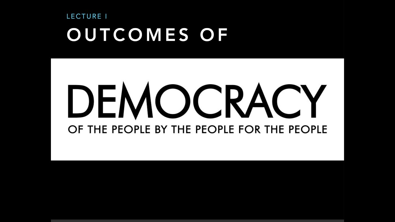 democracy in hindi