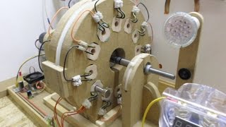 Single Phase Generator_Update 6 - Some testing to see how different loads effects the system...
