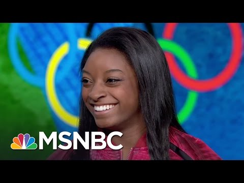 Olympic Star Simone Biles Speaks About Her Success, Adoption By Grandparents | MSNBC