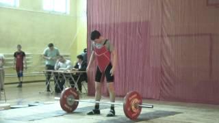 Хафизов Илья, 16 лет, вк 50 Толчок 85 кг