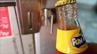 Easiest way to open sauce, cold drink or beer bottle without bottle opener