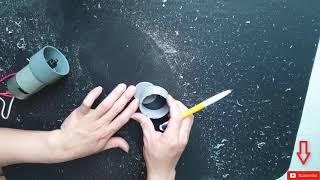 DIY5: Wie man eine DIY Wasserpumpe zu Hause macht | Leistungsstarke 12V