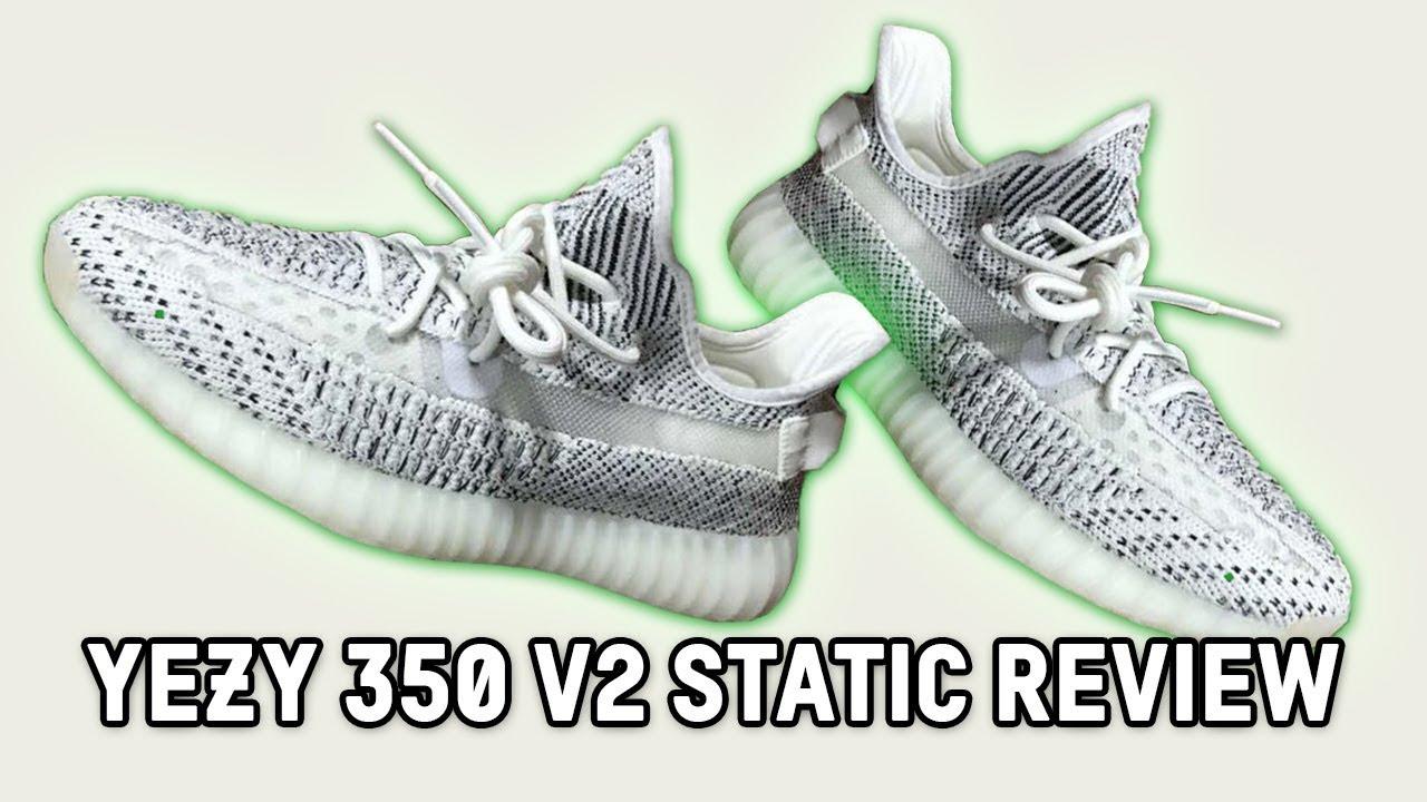 85538c0dbf8b4 YEEZY 350 V2 STATIC FIRST LOOK!! - YouTube