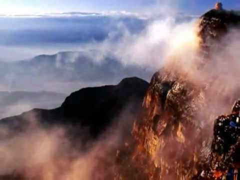 The beautiful landscape and music of China [1] The Sea of Clouds in Yellow Mountain.avi