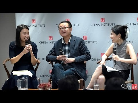 Why is Sci Fi So Hot in China? Cixin Liu and Jiayang Fan in conversation at China Institute