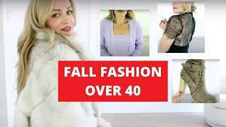 BEST FALL FASHION OVER 40 | TRACY CAMPOLI | VENUS TOP WEARABLE FASHION TRENDS
