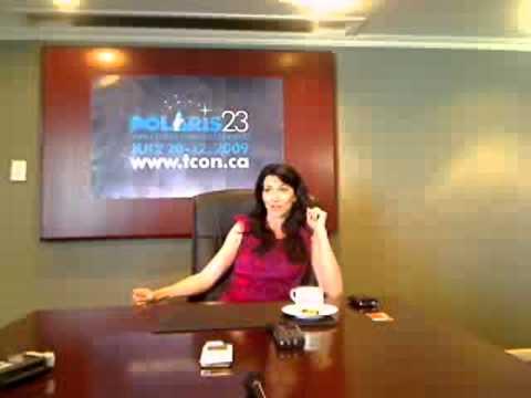 Claudia Black at Polaris23 2009