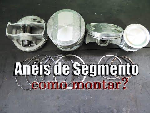 SEGREDO: ANÉIS DE SEGMENTO - MONTAGEM | Paulo Stinghel