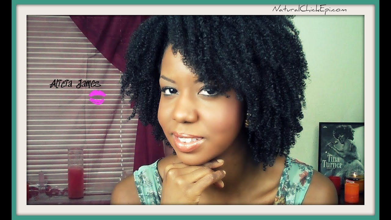 Natural Hair My Wash And Go Routine YouTube