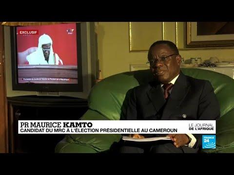 Exclusif: Maurice Kamto refuse de reconnaître la victoire de Paul Biya