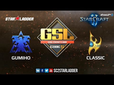 2018 GSL Season 1 Ro16 Group C Match 1: GuMiho (T) vs Classic (P)