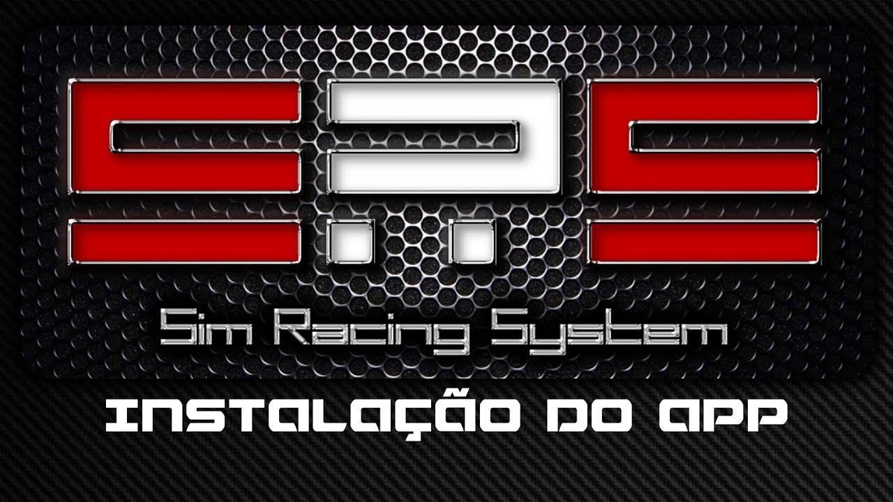 Tutorial Sim Racing System - Instalação do app (2018)