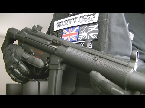 CYMA CM049 SD6 MP5 / AIRSOFT MP5 / CM049SD6 MP5 / Unboxing Review Shooting Test