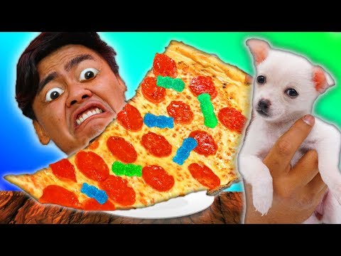 PUPPIES Choose My Pizza Toppings - Challenge