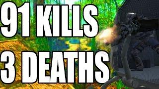 91 KILLS 3 DEATHS - Star Wars Battlefront vs Black Ops 3 (Call of Duty Black Ops)