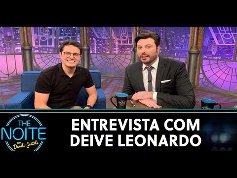 Entrevista com Deive Leonardo  The Noite 290520