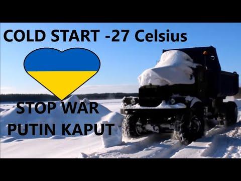 Kraz cold start -27°C