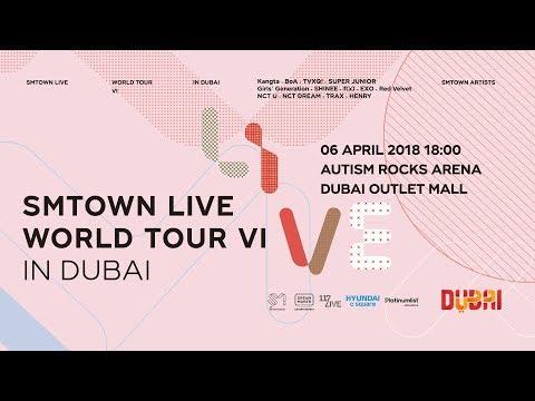 SMTOWN LIVE WORLD TOUR VI IN DUBAI, APRIL 6TH 2018