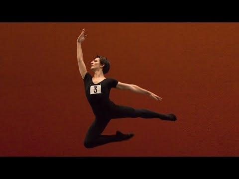 Valentino Zucchetti on the Genée International Ballet Competition