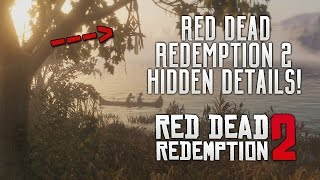 Red Dead Redemption 2 - HIDDEN TRAILER DETAILS! Native Americans, Animals, Weapons & RDR2 Locations!