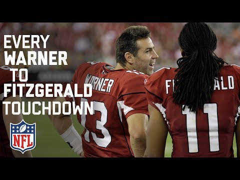 Every Kurt Warner To Larry Fitzgerald Touchdown Pass! | NFL Highlights