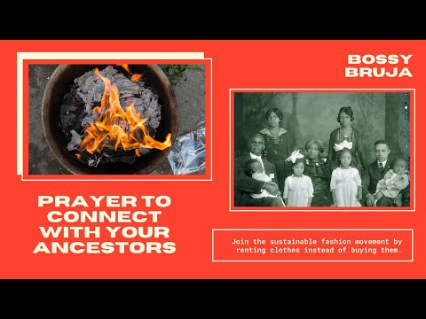 a prayer to connect with ancestors