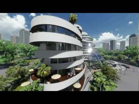 Hotel made with LUMION + SketchUp - YouTube
