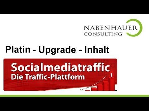 Nabenhauer Consulting: Traffic über Social Media Plattformen - Info über Platin Upgrade