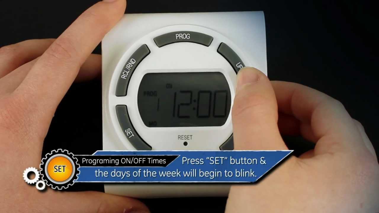 Ge wall timer instructions digital lamp timer china wall ge 15313.