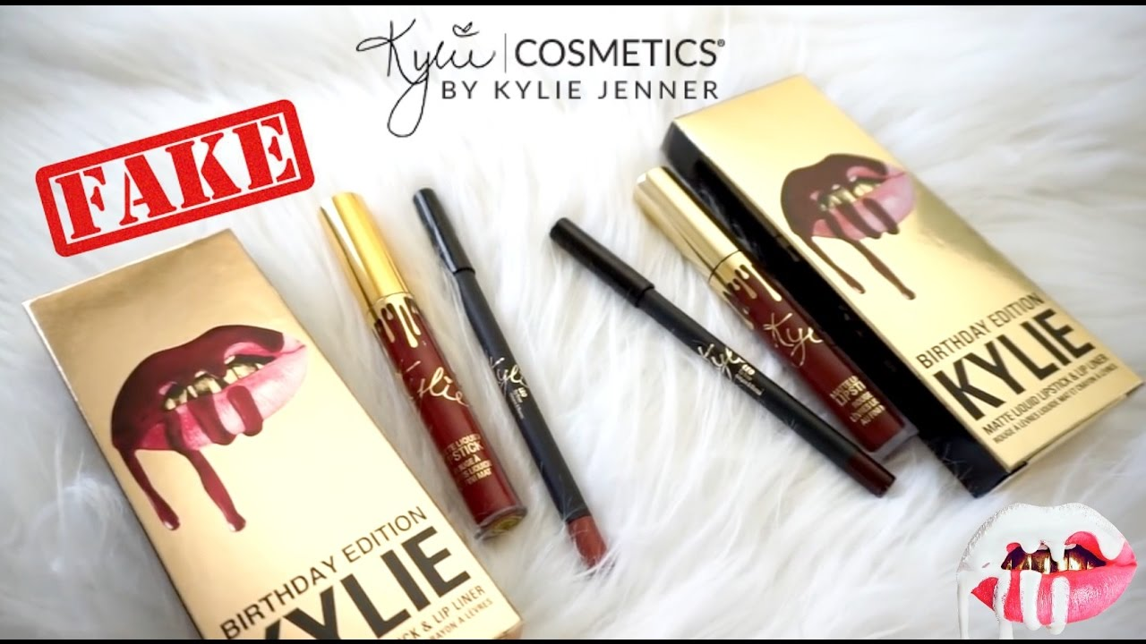 28257785cf5 REAL vs FAKE $2: Kylie Cosmetics Lip Kit