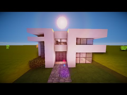 minecraft simple modern house hd