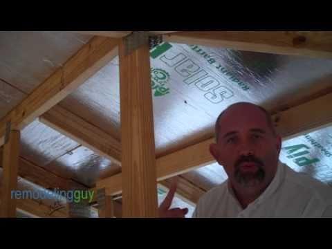 Radiant Barrier Roof Sheathing Youtube