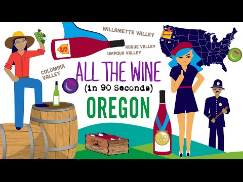 wine article Oregon Wine in 90 Seconds