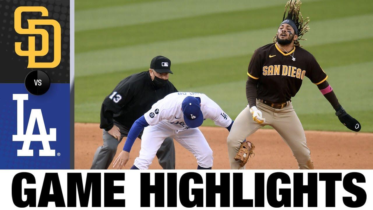 Download Padres vs. Dodgers Game Highlights (4/25/21) | MLB Highlights
